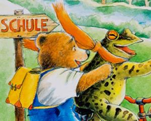 Der kleine Bär lernt das ABC