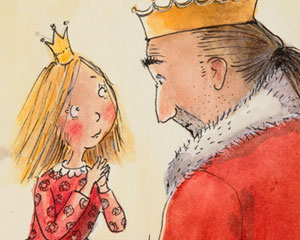 Die Prinzessin und der Bär