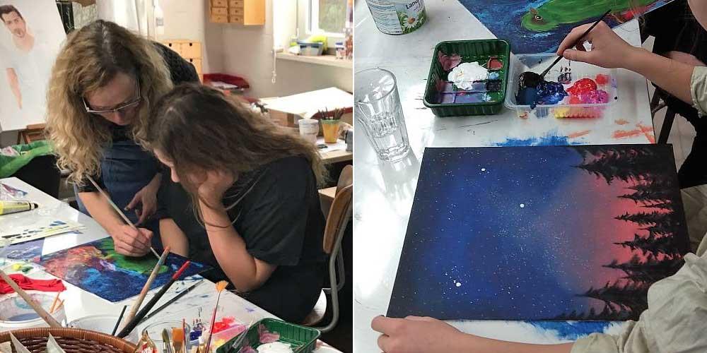 Susanne-Leontine Schmidt: Kunstworkshops für Kinder und Jugendliche