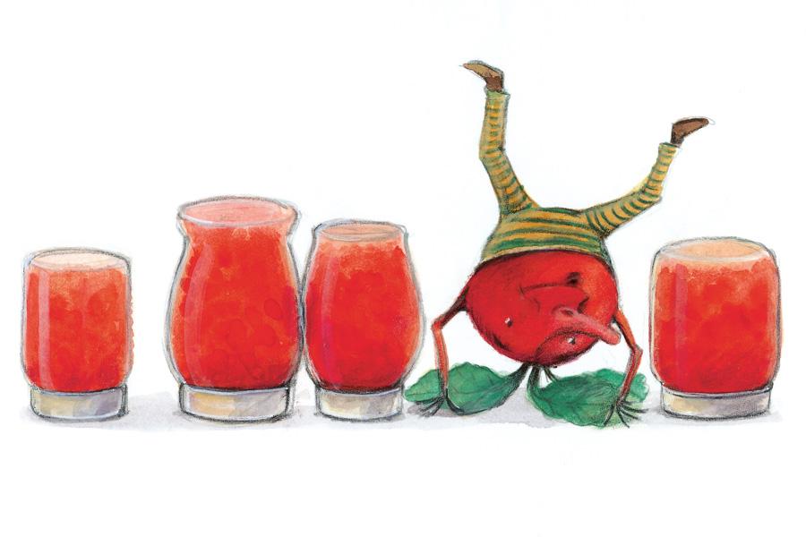 Illustration Erdbeermarmelade