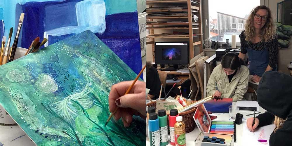 Susanne-Leontines Kunstworkshop